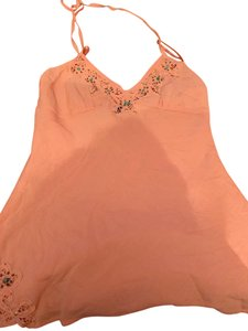 Express coral Halter Top