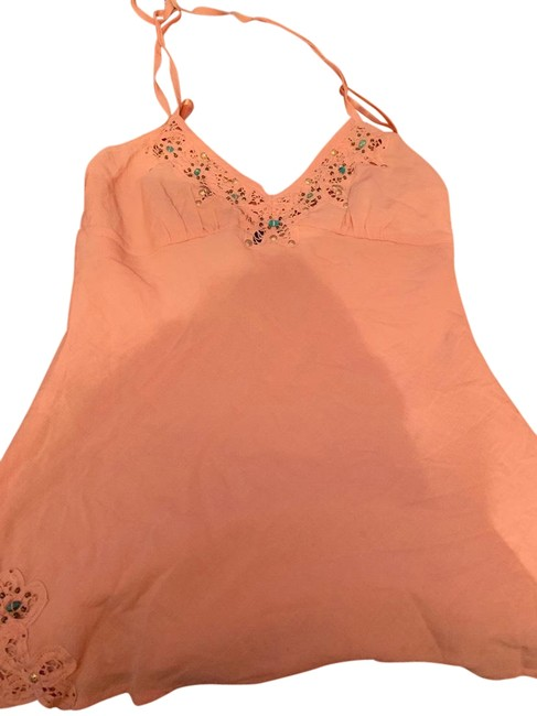 Item - Coral Halter Top Size 10 (M)