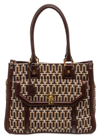 Preload https://img-static.tradesy.com/item/25767295/tory-burch-graphic-monogram-492228-navy-tan-white-needlepoint-and-leather-tote-0-0-540-540.jpg