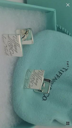 Tiffany & Co. Tiffany's Notes Cufflinks Image 3