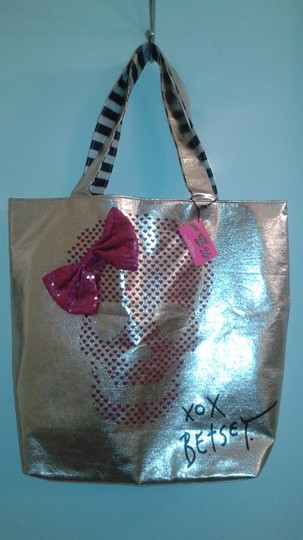 BETSEY JOHNSON GOLD Travel Bag Image 6