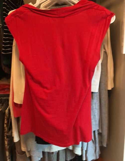 Ann Taylor Top Red Image 1