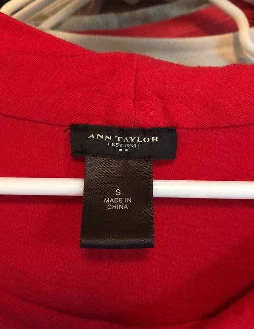Ann Taylor Top Red Image 3