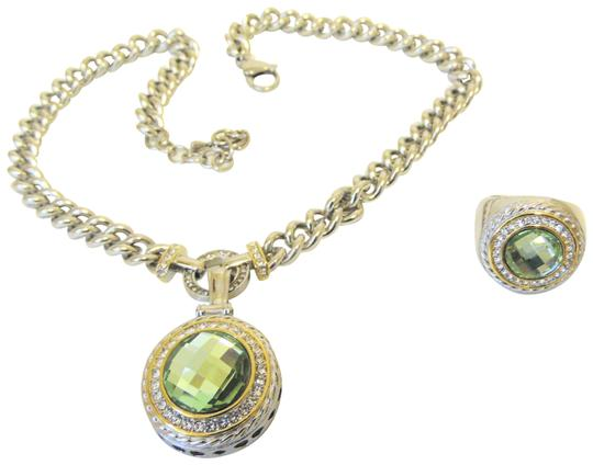 Preload https://img-static.tradesy.com/item/25767425/stainless-steel-emma-skye-collection-and-ring-set-necklace-0-2-540-540.jpg