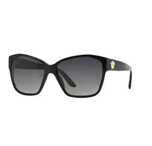 Versace VE4277 5140/T3 Polarized Gold Medusa Sunglasses 60mm Italy