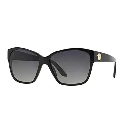 Versace VE4277 5140/T3 Polarized Gold Medusa Sunglasses 60mm Italy Image 2
