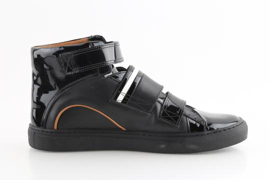 Bally Black Herick Leather High Top Sneakers Shoes Image 4