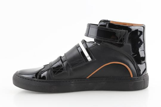 Bally Black Herick Leather High Top Sneakers Shoes Image 5