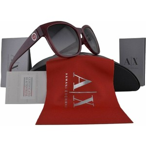 A|X Armani Exchange Ruby Red Milky Way Sunglasses