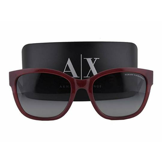 A|X Armani Exchange Ruby Red Milky Way Sunglasses Image 1