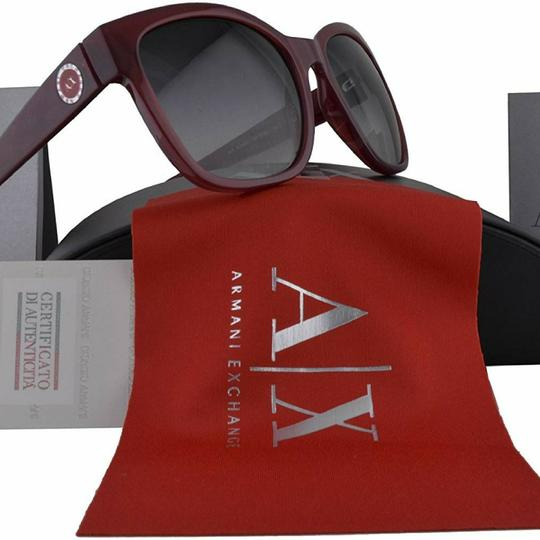 A|X Armani Exchange Ruby Red Milky Way Sunglasses Image 6