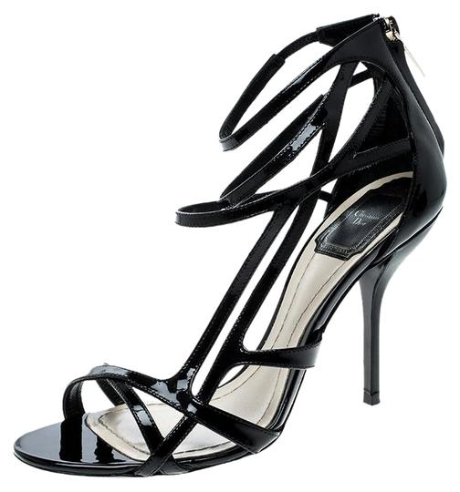 Preload https://img-static.tradesy.com/item/25767517/dior-black-patent-leather-strappy-sandals-size-eu-37-approx-us-7-regular-m-b-0-1-540-540.jpg