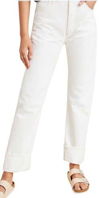 Preload https://img-static.tradesy.com/item/25767560/citizens-of-humanity-white-reese-straight-leg-jeans-size-2-xs-26-0-2-650-650.jpg