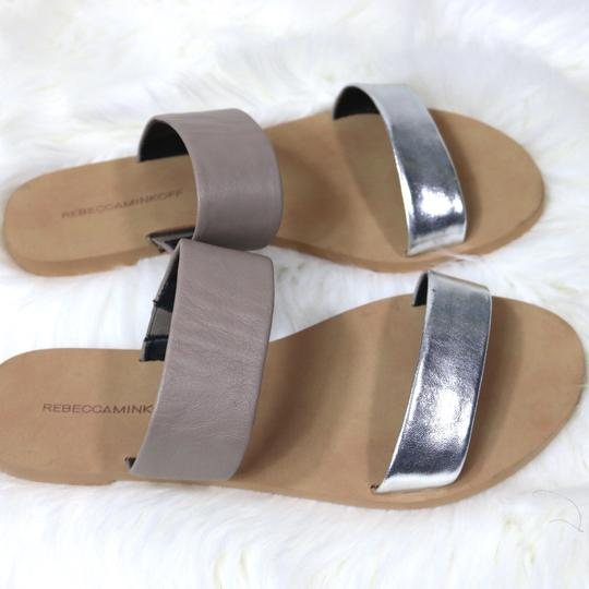 Rebecca Minkoff Summer nude, silver Sandals Image 4