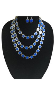 Necklace Blue layered necklace