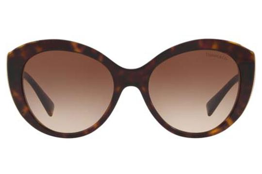 Tiffany & Co. TF4151 8015/3B Dark Havana Cat Eye Lens Sunglasses 54mm Italy Image 3