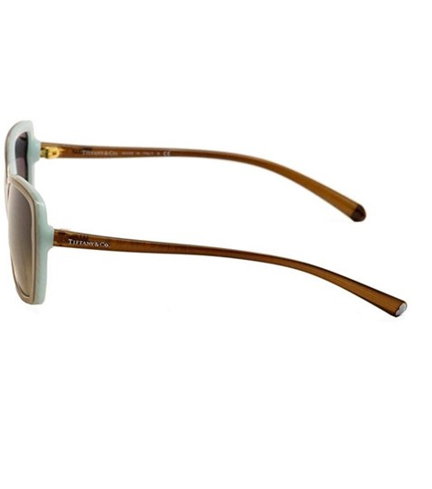 Tiffany & Co. TF4079 8168/3B Brown on Blue Squared Sunglasses 57mm Image 1