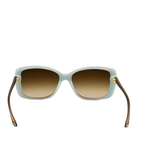 Tiffany & Co. TF4079 8168/3B Brown on Blue Squared Sunglasses 57mm Image 3