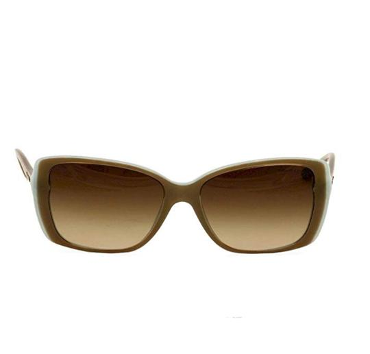 Tiffany & Co. TF4079 8168/3B Brown on Blue Squared Sunglasses 57mm Image 4