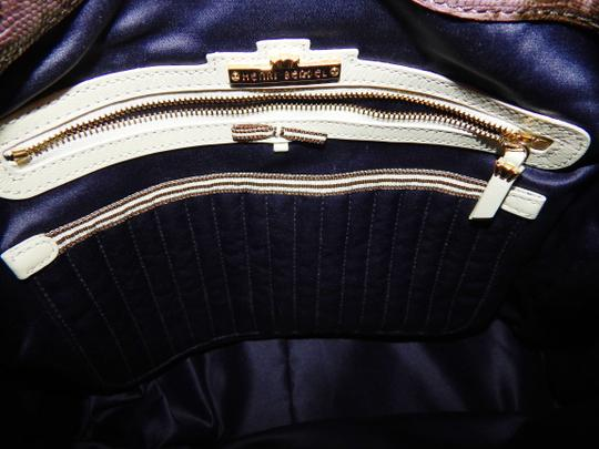 Henri Bendel Reptile Leather Chain Cross Body Bag Image 5