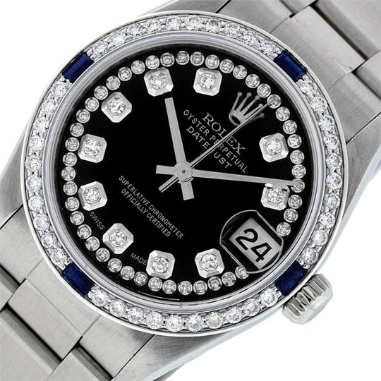 Preload https://img-static.tradesy.com/item/25767768/rolex-black-midsize-datejust-stainless-steel-with-string-diamond-dial-watch-0-2-540-540.jpg