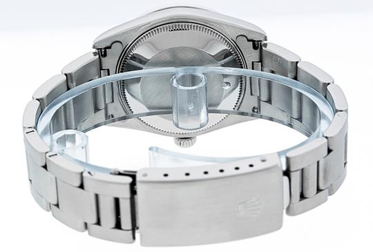 Rolex Midsize Datejust Stainless Steel with String Diamond Dial Watch Image 6