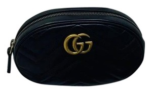 Gucci Gg Marmont Black Messenger Bag