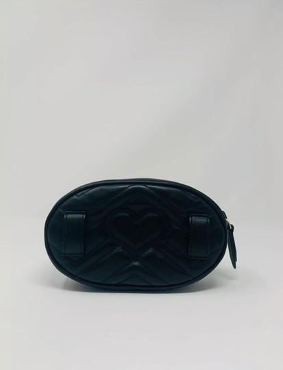 Gucci Gg Marmont Black Messenger Bag Image 3