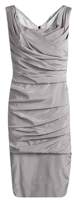 Preload https://img-static.tradesy.com/item/25767890/dolce-and-gabbana-grey-dolce-and-gabbana-silk-ruched-sleeveless-short-casual-dress-size-8-m-0-1-650-650.jpg