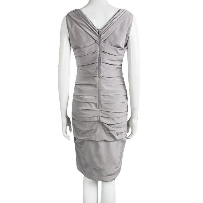 Dolce&Gabbana short dress Grey Silk Sleeveless on Tradesy Image 2