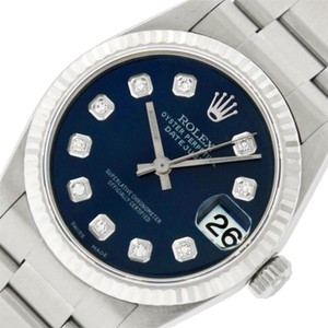 Rolex Midsize Datejust Stainless Steel with Diamond Dial Watch