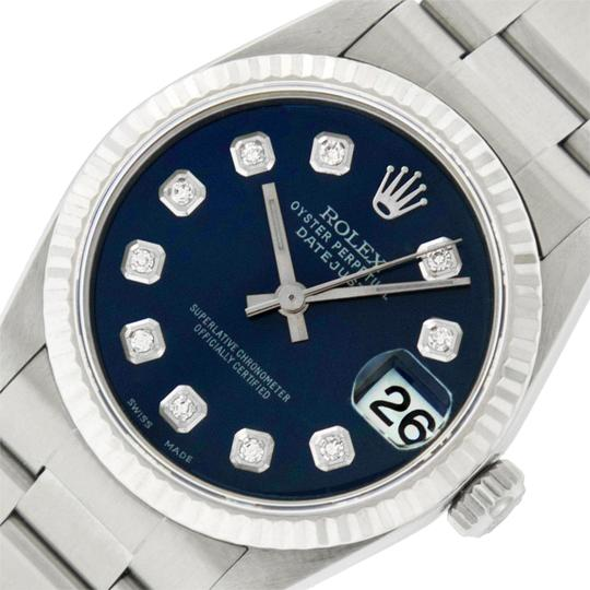 Preload https://img-static.tradesy.com/item/25767937/rolex-blue-midsize-datejust-stainless-steel-with-diamond-dial-watch-0-1-540-540.jpg