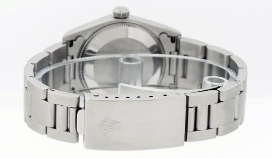 Rolex Midsize Datejust Stainless Steel with Diamond Dial Watch Image 2