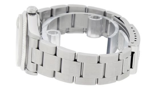 Rolex Midsize Datejust Stainless Steel with Diamond Dial Watch Image 3