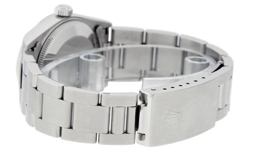 Rolex Midsize Datejust Stainless Steel with Diamond Dial Watch Image 4