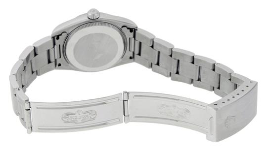 Rolex Midsize Datejust Stainless Steel with Diamond Dial Watch Image 7
