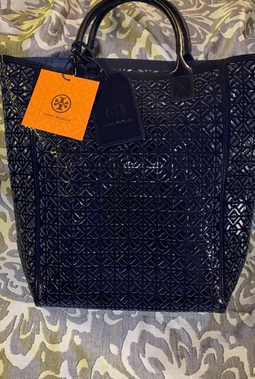 Tory Burch Tote in navy blue Image 1