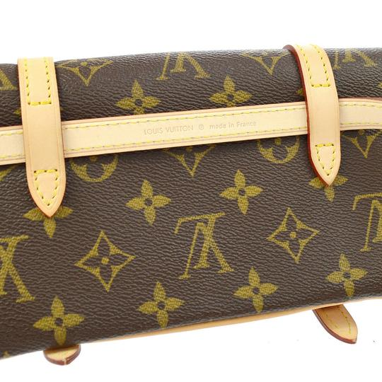 Louis Vuitton Vintage Leather Luxury European Cross Body Bag Image 5