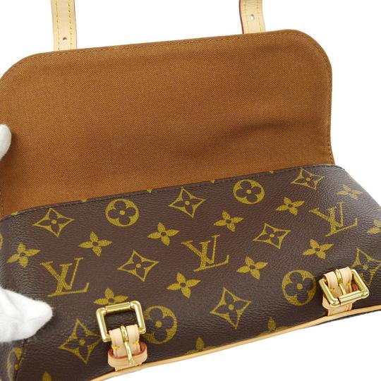 Louis Vuitton Vintage Leather Luxury European Cross Body Bag Image 8