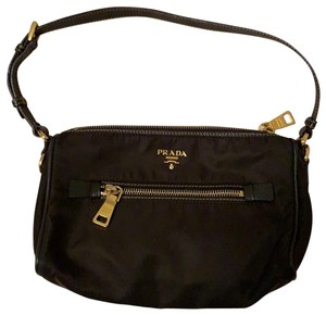 Prada Wristlet in Dark Chocolate