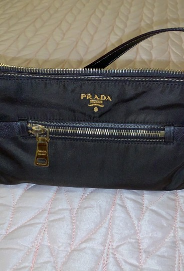 Prada Wristlet in Dark Chocolate Image 3
