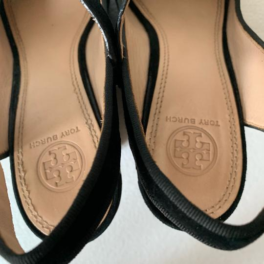 Tory Burch Black Wedges Image 10