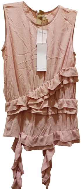 Preload https://img-static.tradesy.com/item/25768004/marni-pale-pink-238-in-italy-sleeveless-ruffled-waist-blouse-size-2-xs-0-1-650-650.jpg