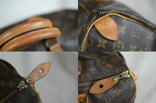 Louis Vuitton Speedy 35 Tote in Brown Image 1