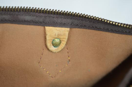 Louis Vuitton Speedy 35 Tote in Brown Image 11