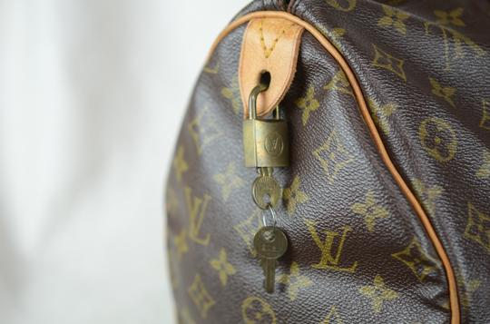 Louis Vuitton Speedy 35 Tote in Brown Image 8