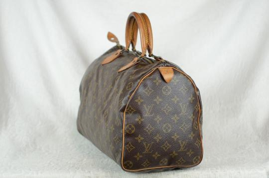 Louis Vuitton Speedy 35 Tote in Brown Image 3