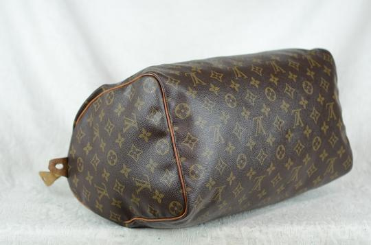 Louis Vuitton Speedy 35 Tote in Brown Image 6
