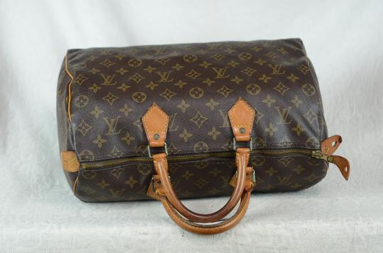 Louis Vuitton Speedy 35 Tote in Brown Image 7