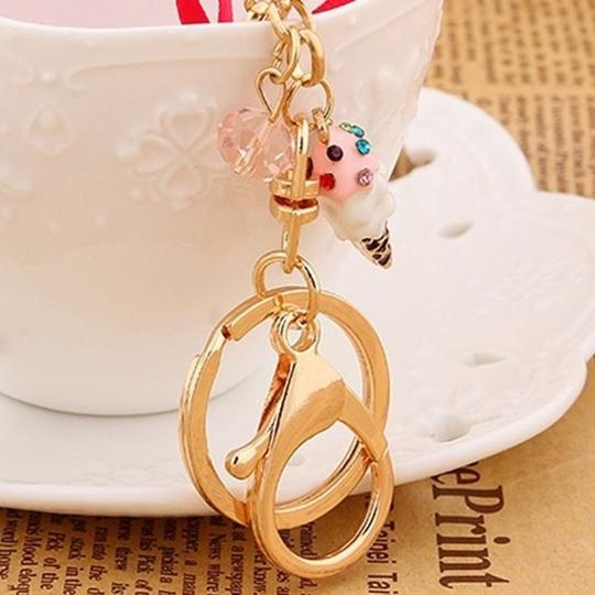 Other Hot Pink Macaroon and Eiffel Tower Purse Charm Image 4